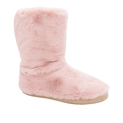 Animal Bollo Slippers Boots - Dust Rose Pink