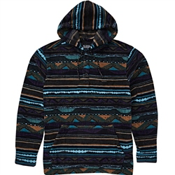 Billabong Furnace Ano Hooded Fleece - Bermuda