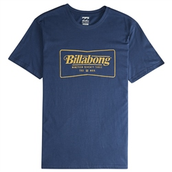 Billabong Trade Mark T-Shirt - Blue