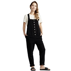 Billabong Sun Seeker Dungarees - Black