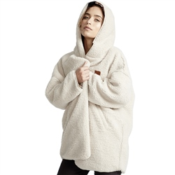 Billabong Moonlight Hooded Fleece - White
