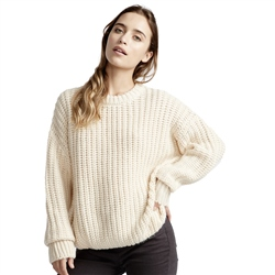 Billabong Pretty Cosy Jumper - White