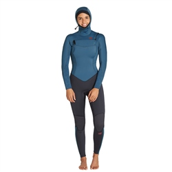 Billabong Furnace Synergy Hooded 5/4mm Wetsuit - Black