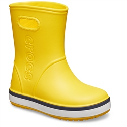 Crocs Cband Rain Boots - Yellow & Navy