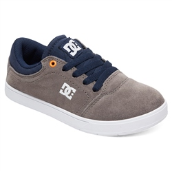 DC Shoes Crisis Shoes - Grey & Dark Navy