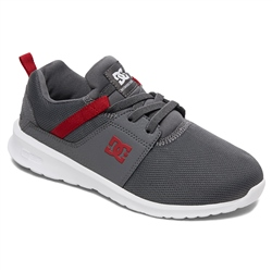 DC Shoes Heathrow Shoes - Grey & Red