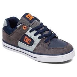 DC Shoes Pure Shoes - Grey & Dark Navy