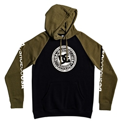 DC Shoes Circle Star Hoody - Black & Green