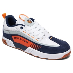 DC Shoes Legacy98 Slim Shoes - Navy & Orange