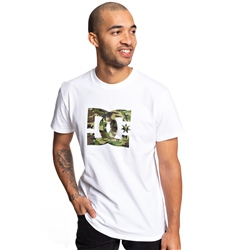 DC Shoes Star T-Shirt - White & Camo