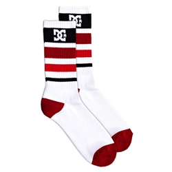 DC Shoes Lean Near Socks - White