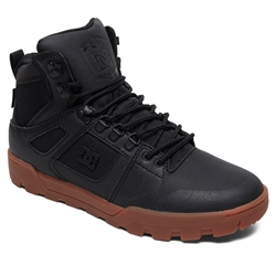 DC Shoes Pure High Top WR Boots - Black