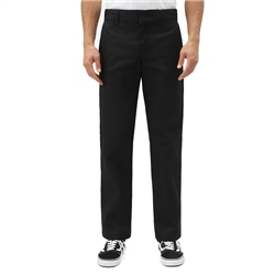 Dickies Slim Straight Work Trousers - Black