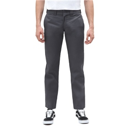 Dickies Slim Straight Work Trousers - Charcoal Grey