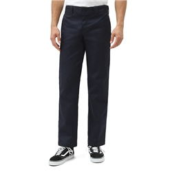 Dickies Slim Straight Work Trousers - Dark Navy