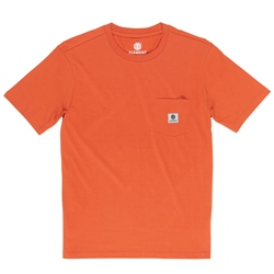 Element Basic Pocket Lab T-Shirt - Burnt