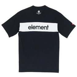 Element Primo Flag T-Shirt - Flint Black