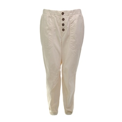 Free People Cadet Pull On Joggers - Ivory