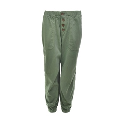 Free People Cadet Pull On Joggers - Army Green
