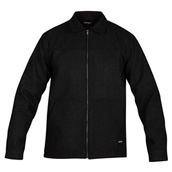 Hurley Wool Jacket - Black