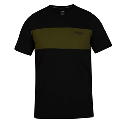 Hurley Dri-Fit Blocked T-Shirt - Black & Green