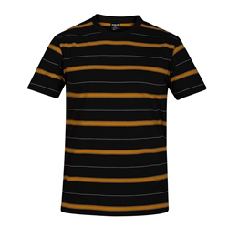 Hurley Dri-Fit Harvey Stripe T-Shirt - Black