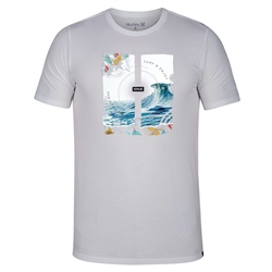 Hurley Dri-Fit Peaking T-Shirt - White
