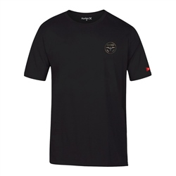 Hurley JJF Aloha T-Shirt - Black & Green