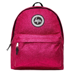 Hype Glitter Backpack - Pink