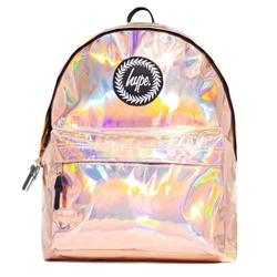 Hype Hologrphc Backpack - Rosegold