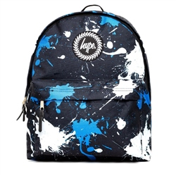Hype Splatter Backpack - Black & White