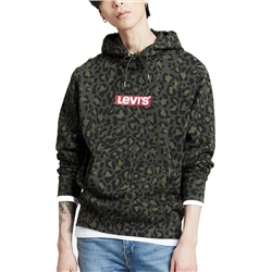 Levi's Graphic Po Pullover Hoody - Olive Woods