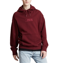 Levi's Relaxed Graphic Hoody - Tech Cabernet