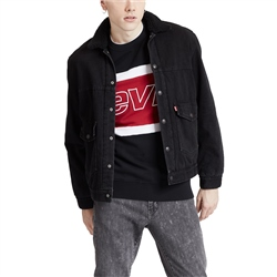 Levi's Patch Pocket Sherpa Trucker Jacket - Ricky