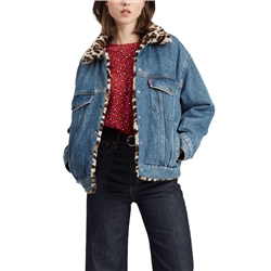 Levi's Dad Revr Fur Trucker Jacket - Cat Eye