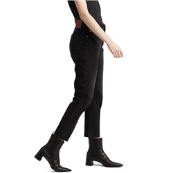 Levi's 501 Crop Jeans - Black Heart