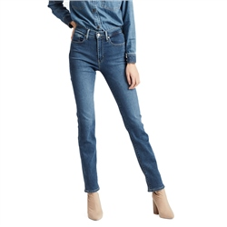 Levi's 724 High Rise Straight Jeans - Paris Stroll