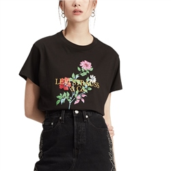 Levi's Graphic Varsity T-Shirt - Floral Meteorite