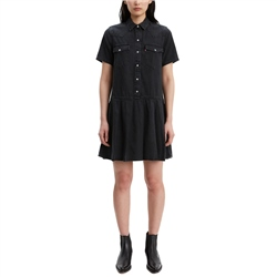 Levi's Mirai Western Dress - Black Sheep