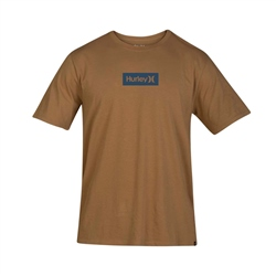 Hurley One & Only Small Box T-Shirt - Brown