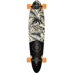 "Globe Pinner Class 40"" Skateboard - Hurricane Leaves"