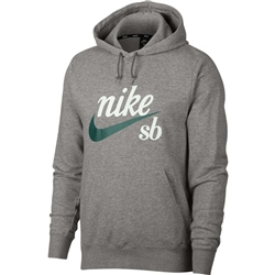 Nike SB Washed Icon Hoody - Grey
