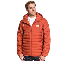 Quiksilver Scaly Jacket - Brick