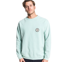 Quiksilver Sweet As Sweatshirt - Turquoise