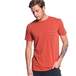 Quiksilver Above The Lip T-Shirt - Brick