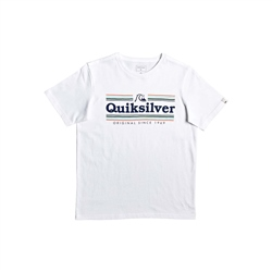 Quiksilver Get Buzzy Boys T-Shirt - White