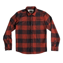 Quiksilver Motherfly Shirt - Burnt Brick