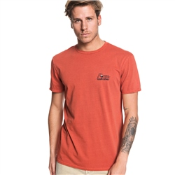 Quiksilver Bouncing Heart T-Shirt - Brick