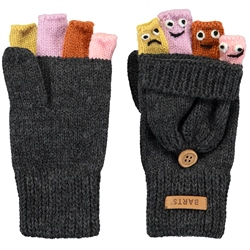 Barts Puppet Bumgloves - Dark Heather