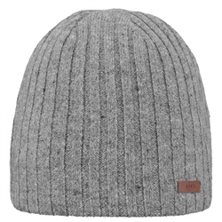 Barts Haakon Beanie (2019) - Heather Grey